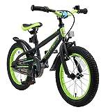 BIKESTAR Bicicleta Infantil para niños y niñas a Partir de 4 años | Bici de montaña 16 Pulgadas con Frenos |...