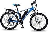 Bicicleta electrica Bicicletas eléctricas de montaña para adultos, todo terreno que viaje deportivo Mountain Bike...