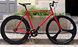Mowheel Bicicleta Single Speed Fix-3 Classic Red Talla 54cm