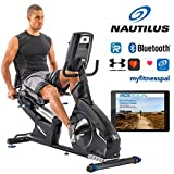 Bicicleta estática reclinada Nautilus R628 con 29 programas -Bluetooth®