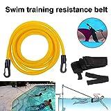 SELUXU Cinturones de Entrenamiento de natación: Amarre de natación, natación Fija, arnés de natación,...