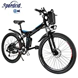 Speedrid Bicicleta eléctrica ebike electrica 26/20 Ebike ebike montaña para Bicicleta con Motor sin escobillas...