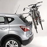 Mottez A025PMON Ariane 3 - Portabicicletas con correas para 3 bicicletas, 24,13 cm
