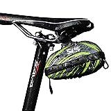 SLS3 Bolsa de sillín pequeña para Bicicleta Debajo del Asiento | Bolsas de Ciclismo | Bolsas para Bicicletas de...