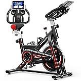 Bicicleta Estaticas,Bicicleta Spin,Bicicleta Estatica Con Monitor De Frecuencia Cardíaca / Transmisión Por Correa...