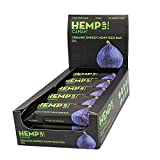 Canah Hemp Up Barritas Energéticas Orgánicas con Semillas de Cáñamo y Higo, Paquete de 15 x 48 grams 100%...