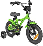 Prometheus Bicicleta para niños de 2 a 5 años | Bicicleta Infantil 3 años para niñas 12 Pulgadas con ruedines...
