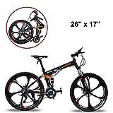 Extrbici bicicleta de montaña MTB bike FR100 bicicleta plegable 26' X 17' aleación de aluminio marco Shi-mano 24...