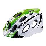 Catlike Kompact'o - Casco de ciclismo, color blanco / verde brillo, S 51-54 cm