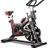 QINYUP - Bicicleta estática para casa, bicicleta, manta, mudo, equipo de fitness, pedal, pérdida de peso,...