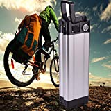 Batería eléctrica 36V 10Ah, Landcrossers Estilo de pescado Batería de litio-ion para bicicleta eléctrica...