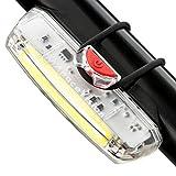 Luz de Bicicleta Delantera Recargable USB Apace Illuma ZT3000 Potente LED faro Delantero Bici Lúmenes de Alta...
