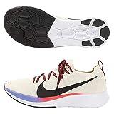 Nike Zoom Fly Flyknit, Zapatillas de Atletismo Hombre, Multicolor (Light Cream/Black/Bright Crimson 000), 41 EU