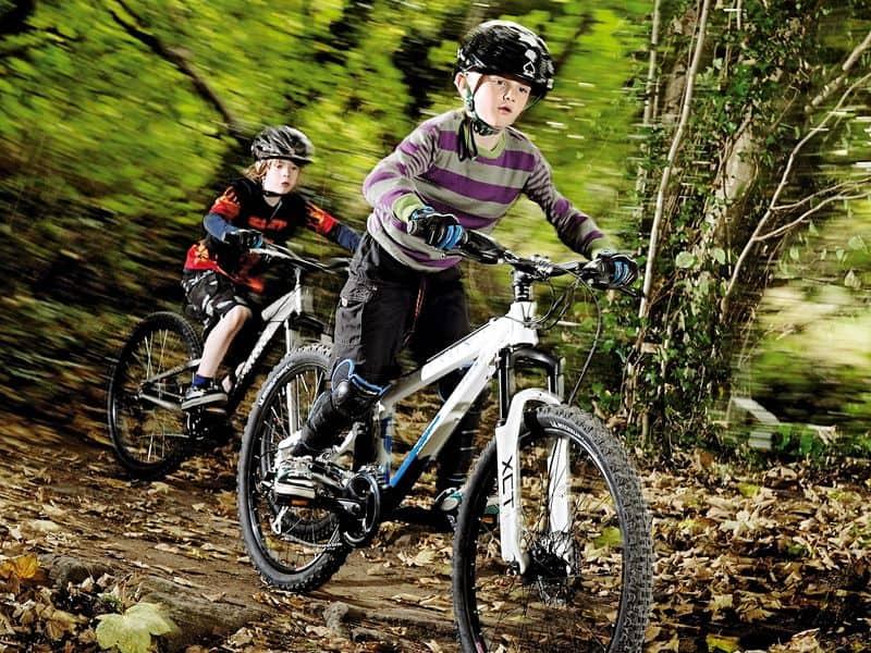 Bicicleta para niños de montaña