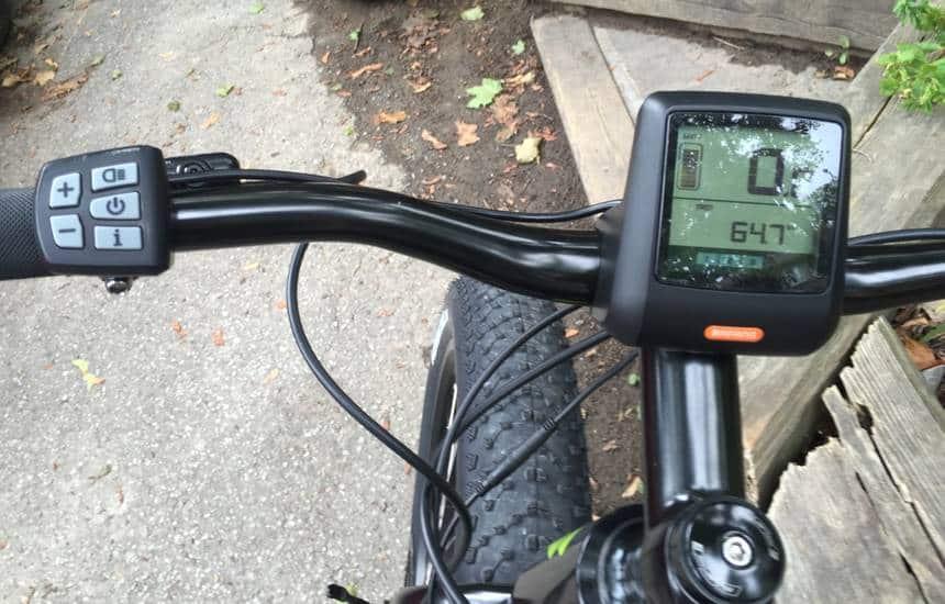 controles e-bike