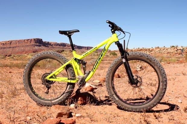 bicicleta fat bike de montaña