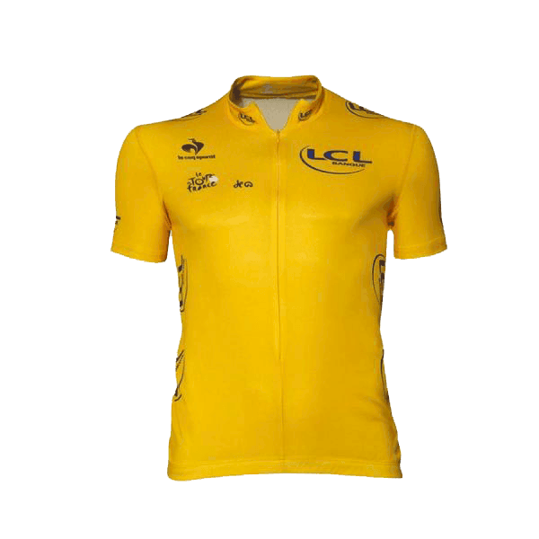 maillot amarillo