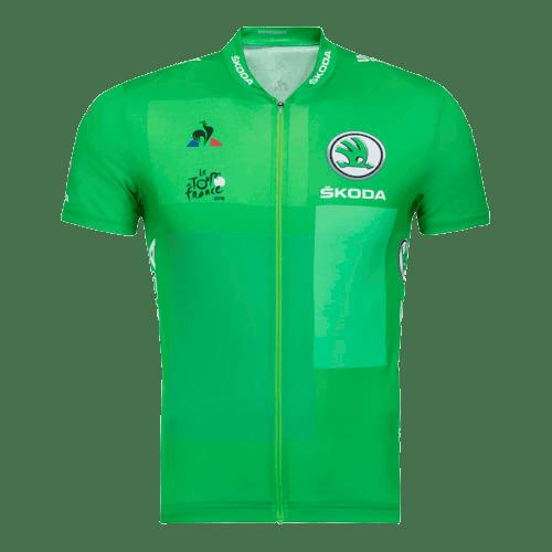 maillot verde tour de francia