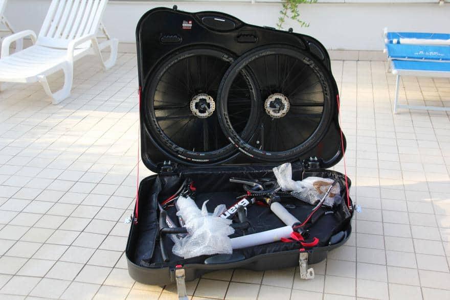 caja porta biciletas