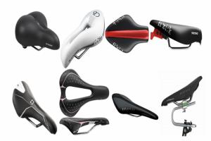 diferentes tipos de sillin para bicicleta