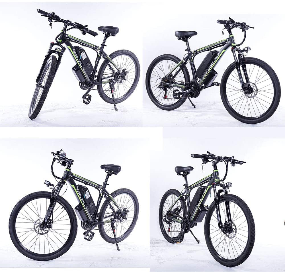 Hyuhome Bicicleta Eléctrica para Adultos Ip54