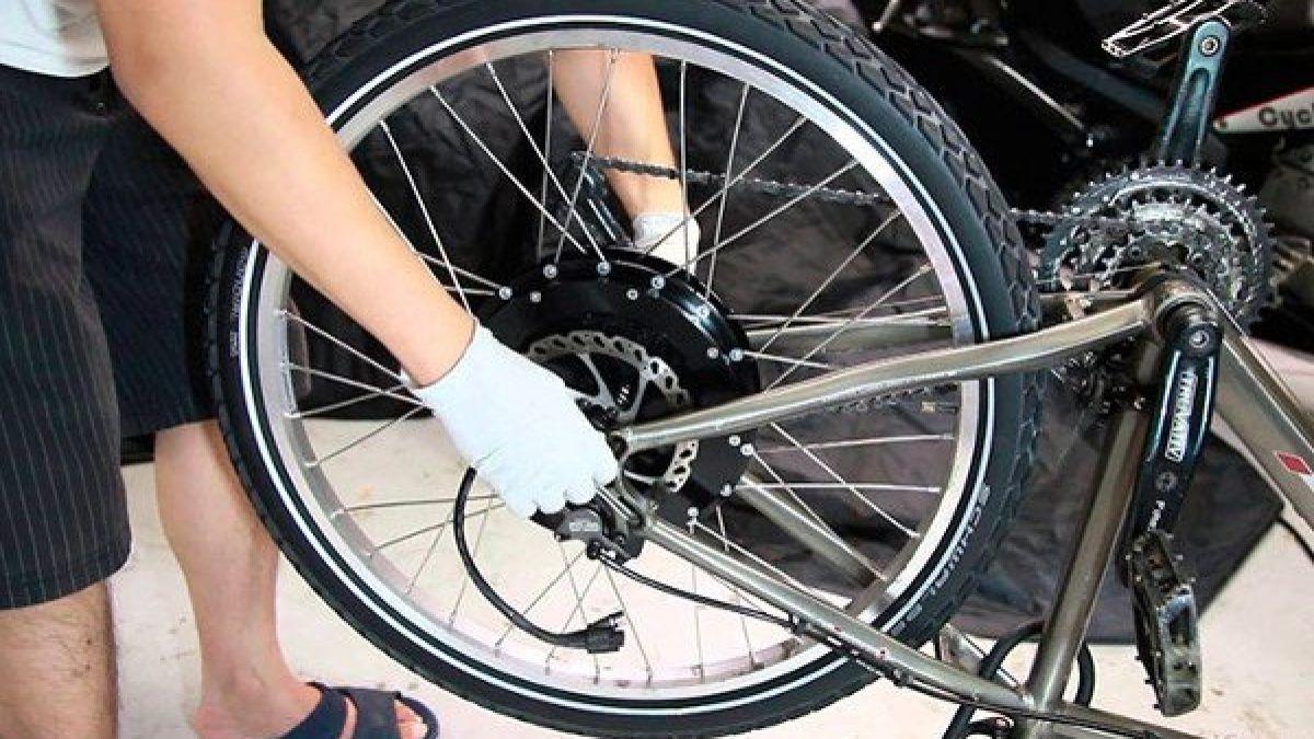Kit de Conversión a Bicicleta Eléctrica