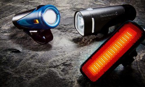 luces de bicicleta variadas